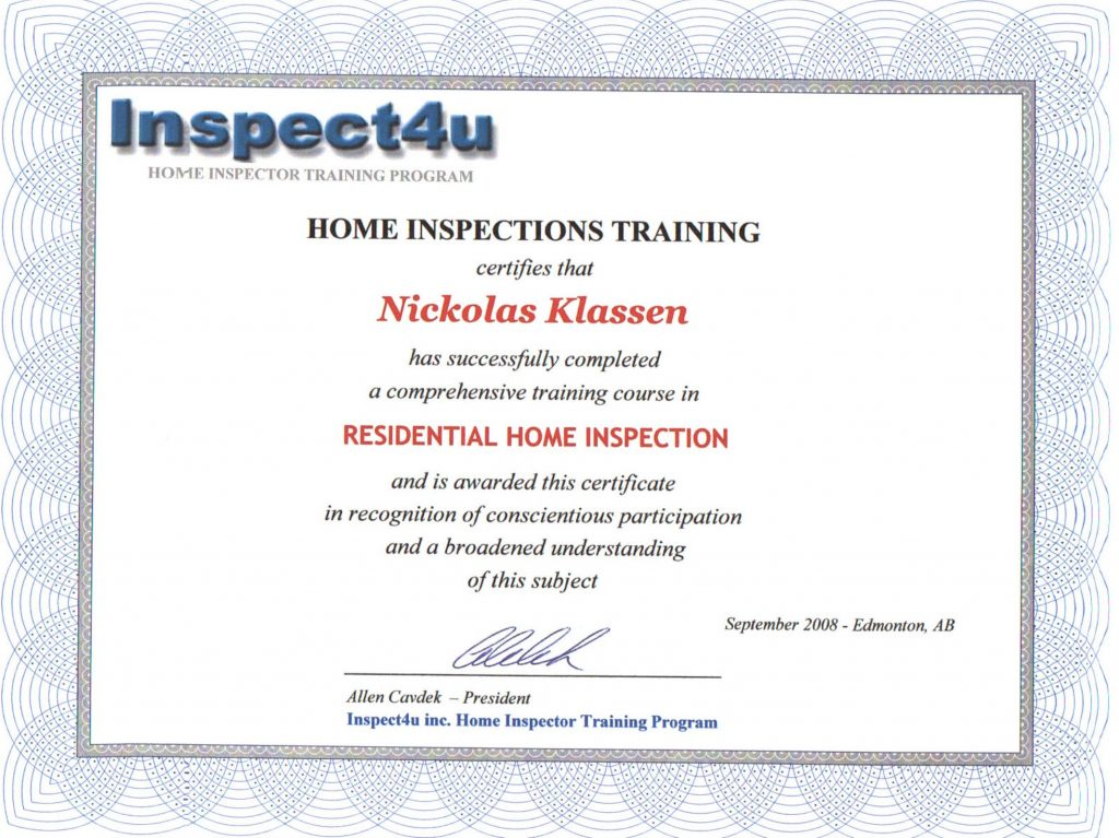 FREE Home Inspection Checklist 6